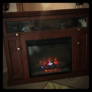 Fire place w/ stand